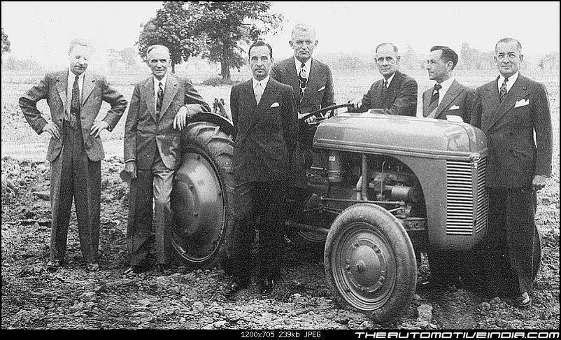 Генри Форд среди руководителей компании