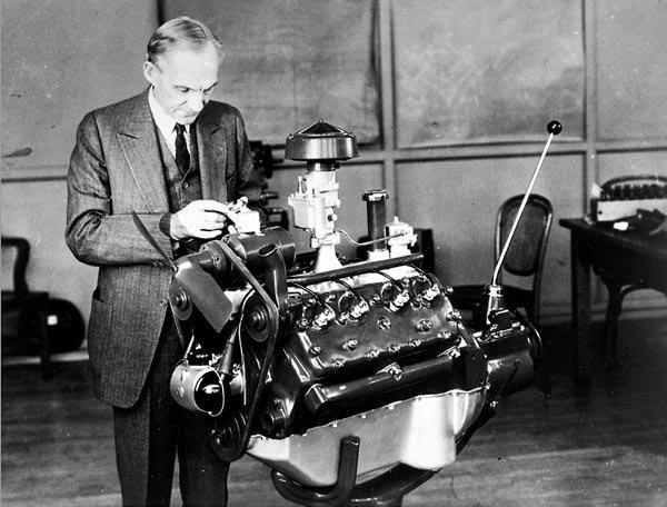 68-летний Форд с двигателем V8